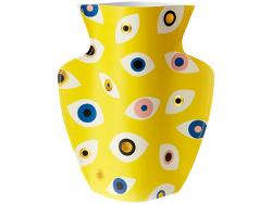 Acheter Grand vase en papier Octaevo - Nazar jaune - 21,99€ en ligne sur La Petite Epicerie - Loisirs créatifs