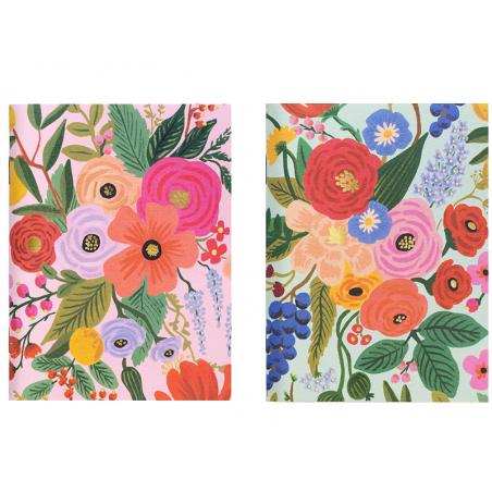 Acheter Lot de 2 carnets A6 - Garden Party - 11,89€ en ligne sur La Petite Epicerie - Loisirs créatifs