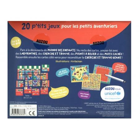 Acheter 20 p'tits jeux - Pour les petits aventuriers - 5,89€ en ligne sur La Petite Epicerie - Loisirs créatifs