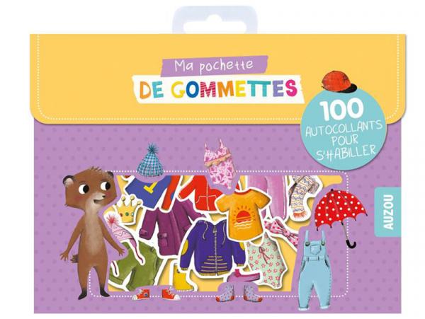 Acheter Pochette de gommettes - 100 autocollants pour s'habiller - 3,95€ en ligne sur La Petite Epicerie - Loisirs créatifs