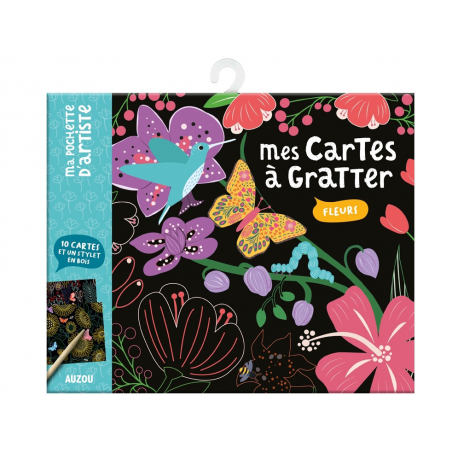 Acheter Mes cartes à gratter - Fleurs - 7,95€ en ligne sur La Petite Epicerie - Loisirs créatifs