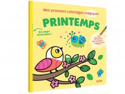 Acheter Mes premiers coloriages magiques - Printemps - 6,95€ en ligne sur La Petite Epicerie - Loisirs créatifs