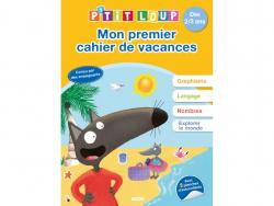 Acheter Mon premier cahier de vacances P'tit Loup - Dès 2 à 3 ans - 4,95€ en ligne sur La Petite Epicerie - Loisirs créatifs