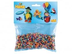 7.500 HAMA-Mini-Perlen - 48 Farben