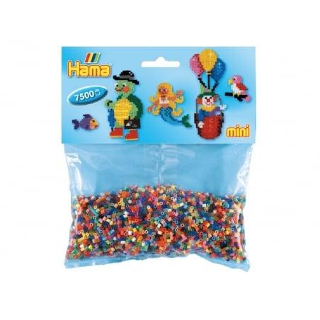 Acheter 7500 perles HAMA MINI - 48 couleurs - 8,10€ en ligne sur La Petite Epicerie - 100% Loisirs créatifs