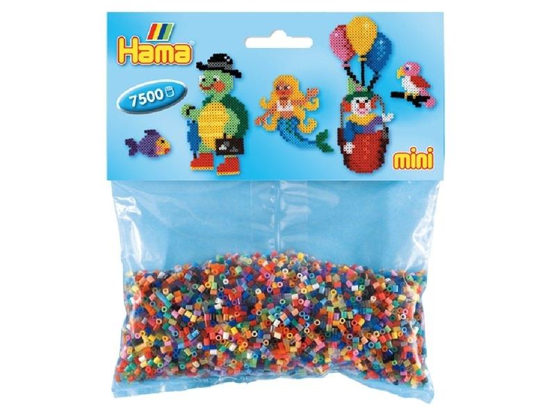 7500 perles HAMA MINI - 48 couleurs