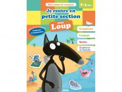 Acheter Je rentre en petite section avec Loup - Cahier de vacances de 2 à 3 ans - 4,95€ en ligne sur La Petite Epicerie - Lo...