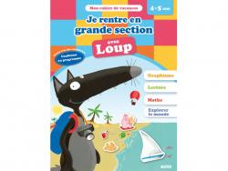 Acheter Je rentre en grande section avec Loup - Cahier de vacances de 4 à 5 ans - 4,95€ en ligne sur La Petite Epicerie - Lo...