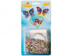 HAMA-Mini-Perlen-Set - 2.000 Perlen und eine Platte