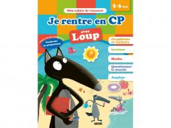 Acheter Je rentre en CP avec Loup - Cahier de vacances de 5 à 6 ans - 4,95€ en ligne sur La Petite Epicerie - Loisirs créatifs
