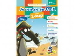 Acheter Je rentre en CE1 avec Loup - Cahier de vacances de 6 à 7 ans - 4,95€ en ligne sur La Petite Epicerie - Loisirs créatifs