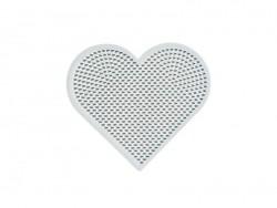 Acheter plaque support pour perles HAMA MINI - coeur - 2,99€ en ligne sur La Petite Epicerie - 100% Loisirs créatifs