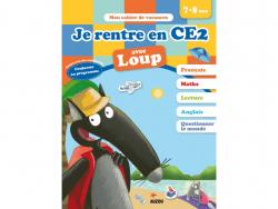 Acheter Je rentre en CE2 avec Loup - Cahier de vacances de 7 à 8 ans - 4,95€ en ligne sur La Petite Epicerie - Loisirs créatifs