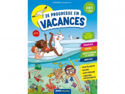 Acheter Je progresse en vacances - Cahier de vacances du CE1 au CE2 - 4,95€ en ligne sur La Petite Epicerie - Loisirs créatifs