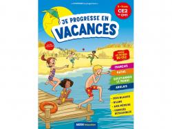 Acheter Je progresse en vacances - Cahier de vacances du CE2 au CM1 - 4,95€ en ligne sur La Petite Epicerie - Loisirs créatifs
