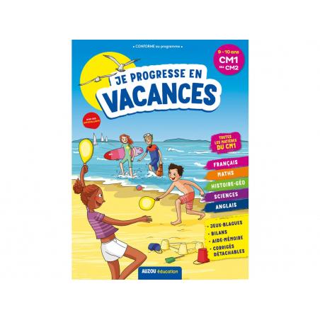 Acheter Je progresse en vacances - Cahier de vacances du CM1 au CM2 - 4,95€ en ligne sur La Petite Epicerie - Loisirs créatifs