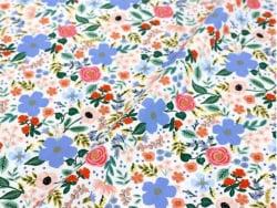 Acheter Tissu rayonne Rifle Paper - Wild Rose Cream - 2,35€ en ligne sur La Petite Epicerie - Loisirs créatifs