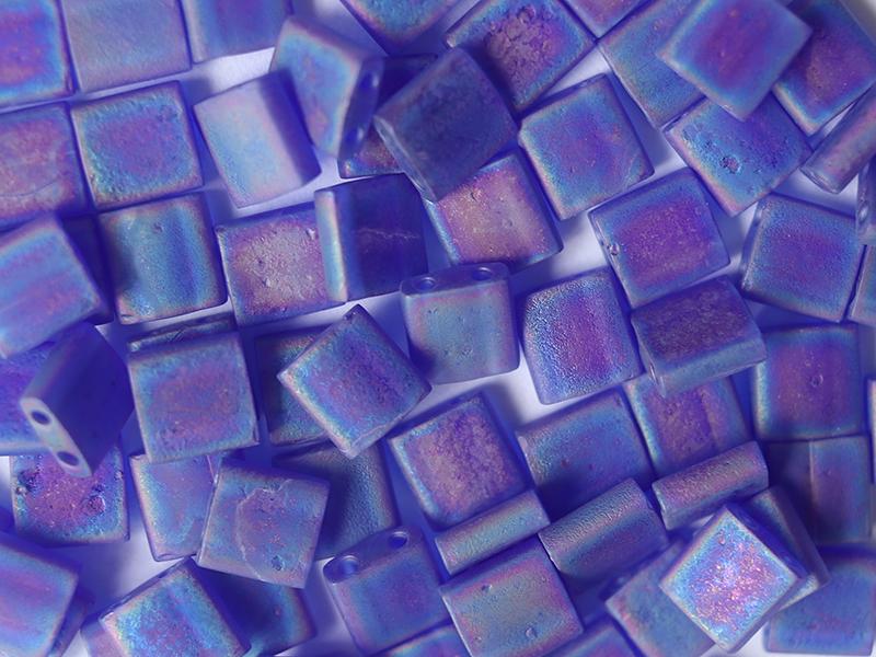 Acheter Perles Tila 5 mm - Matte Trans Cobalt Ab TL151FR - 2,89€ en ligne sur La Petite Epicerie - Loisirs créatifs