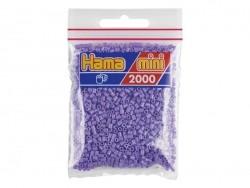 Sachet de 2000 perles HAMA MINI - violet pastel 45