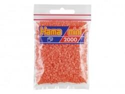 Sachet de 2000 perles HAMA MINI - rouge pastel 44 Hama - 1