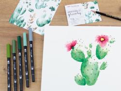 Acheter Set aquarelle Watercoloring set Greenery - 25,99€ en ligne sur La Petite Epicerie - Loisirs créatifs