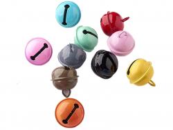 Acheter Lot 10 petits grelots - couleurs aléatoires - 2,99€ en ligne sur La Petite Epicerie - Loisirs créatifs
