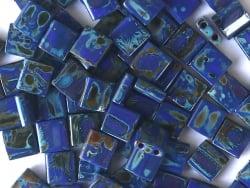 Acheter Perles Tila 5 mm - Opaque Cobalt Picasso TL4518 - 3,49€ en ligne sur La Petite Epicerie - Loisirs créatifs
