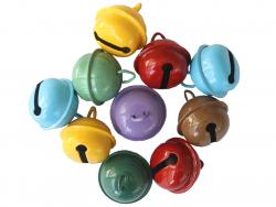 Acheter Lot de 10 gros grelots - couleurs aléatoires - 5,99€ en ligne sur La Petite Epicerie - Loisirs créatifs