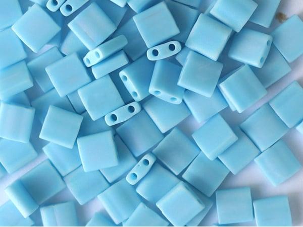 Acheter Perles Tila Bead 5mm - Matte Opaque Turquoise TL413FR - 3,19€ en ligne sur La Petite Epicerie - Loisirs créatifs
