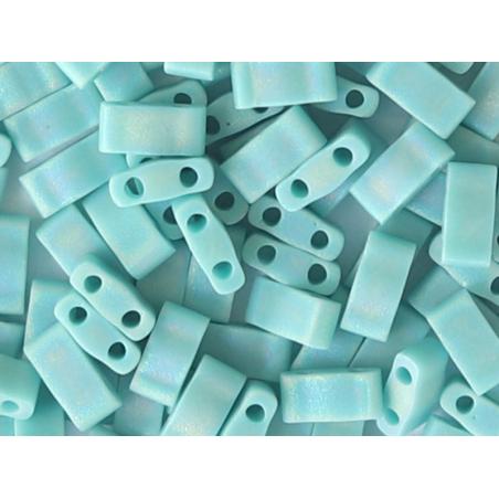 Acheter Perles Half tila 2,3 mm - Matte Opaque Turquoise Green Ab TLH412FR - 3,19€ en ligne sur La Petite Epicerie - Loisirs...