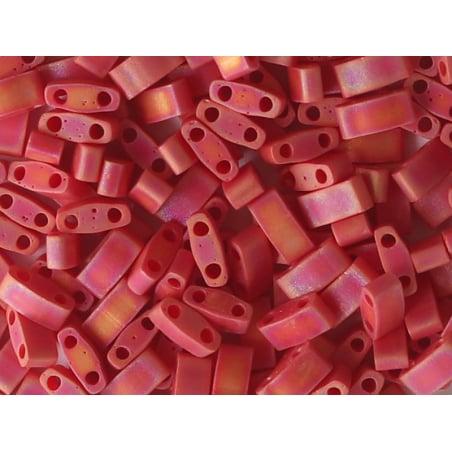 Acheter Perles Half Tila 2,3 mm - Matte Op Red Ab TLH408FR - 3,49€ en ligne sur La Petite Epicerie - Loisirs créatifs