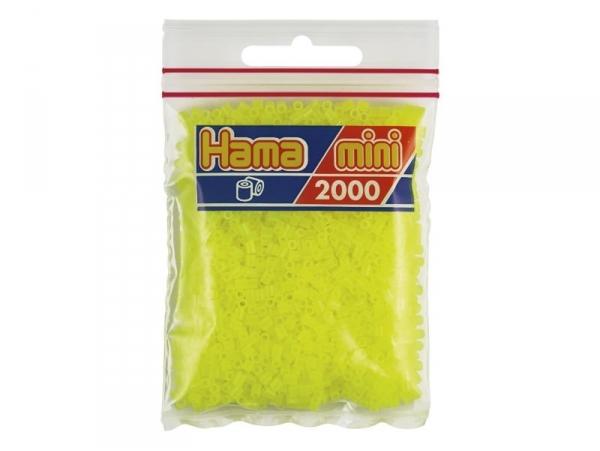 Acheter Sachet de 2000 perles HAMA MINI - jaune fluorescent 39 - 2,70€ en ligne sur La Petite Epicerie - Loisirs créatifs
