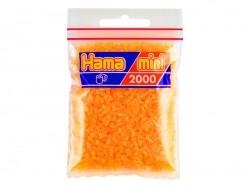 Tüte mit 2.000 HAMA-Mini-Perlen - neonorange