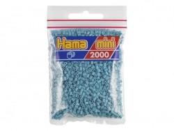 Bag of 2,000 HAMA MINI beads - turquoise