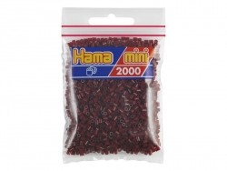 Sachet de 2000 perles HAMA MINI - bordeaux