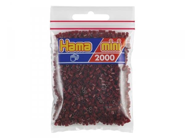 Sachet de 2000 perles HAMA MINI - bordeaux 30 Hama - 1