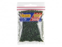 Bag of 2,000 HAMA MINI beads - dark green