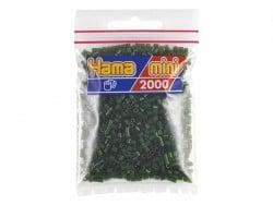 Sachet de 2000 perles HAMA MINI - vert foncé