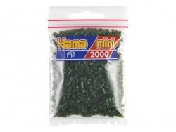 Tüte mit 2.000 HAMA-Mini-Perlen - dunkelgrün