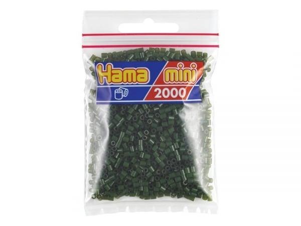 Sachet de 2000 perles HAMA MINI - vert foncé 28
