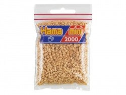 Sachet de 2000 perles HAMA MINI - beige