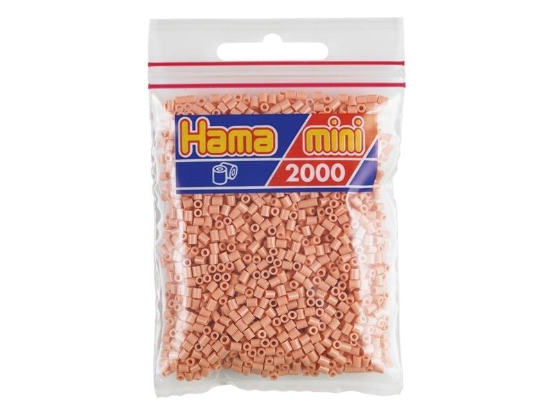 Bag of 2,000 HAMA MINI beads - nude