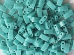 Acheter Perles Half Tila 2,3 mm - Opaque Turquoise Green TLH412 - 3,29€ en ligne sur La Petite Epicerie - Loisirs créatifs