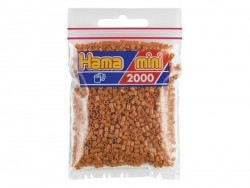 Sachet de 2000 perles HAMA MINI - marron clair