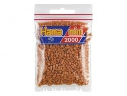 Sachet de 2000 perles HAMA MINI - marron clair 21 Hama - 1