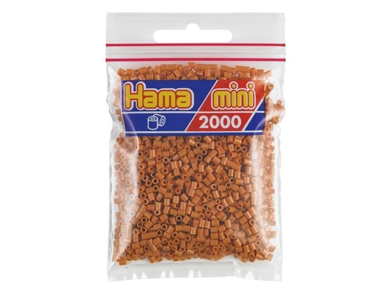 Bag of 2,000 HAMA MINI beads - light brown