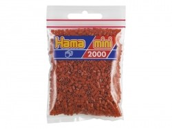Tüte mit 2.000 HAMA-Mini-Perlen - karamellfarben