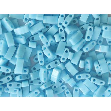 Acheter Perles Half Tila 2,3 mm - Opaque Turquoise Blue TLH413 - 3,29€ en ligne sur La Petite Epicerie - Loisirs créatifs