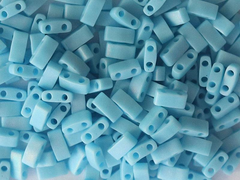 Acheter Perles Half Tila 2,3 mm - Matte Opaque Turquoise TLH413FR - 3,29€ en ligne sur La Petite Epicerie - Loisirs créatifs
