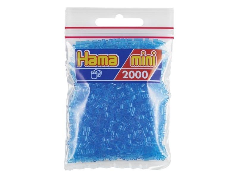 Acheter Sachet de 2000 perles HAMA MINI - bleu transparent 15 - 2,70€ en ligne sur La Petite Epicerie - 100% Loisirs créatifs